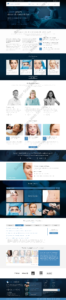 Cosmetic Web Design Mockup-E