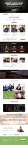 Lawyer Web Design Mockup-K