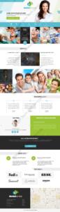 Dental Web Design Mockup-C