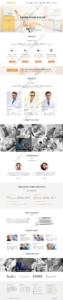 Dental Web Design Mockup-D