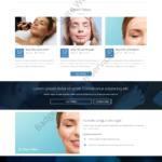 Cosmetic Web Design Mockup-E