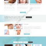 Cosmetic Web Design Mockup-F