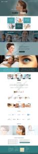 Cosmetic Web Design Mockup-G