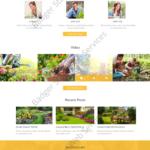 General Service Web Design Mockup-H