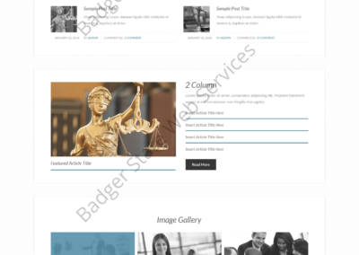 Lawyer Web Design Mockup-L