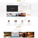 Lawyer Web Design Mockup-M