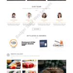 Restaurant Web Design Mockup-Q
