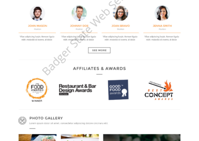 Restaurant Web Design Mockup-Q