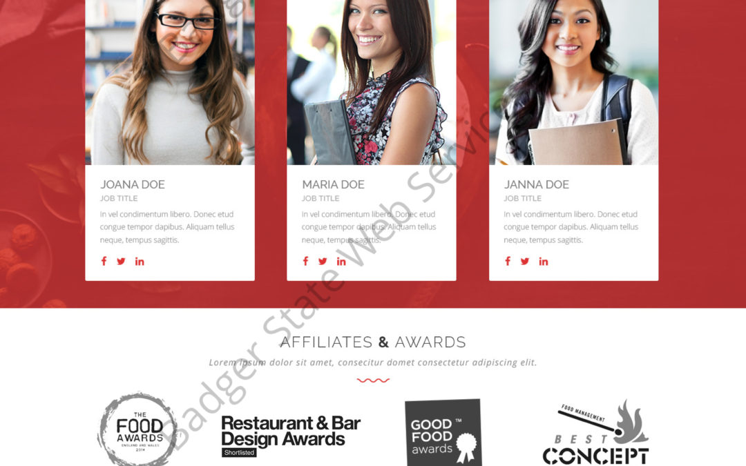 Restaurant Web Design Mockup-R