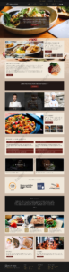 Restaurant Web Design Mockup-S