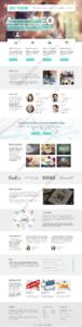 SEO Web Design Mockup-V